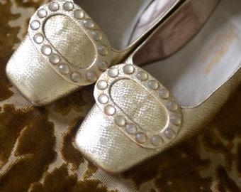 Golden Ticket Heels