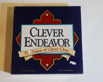 Game0125 Clever Endeavor 1989 Game of Clever Clues