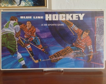 Vintage Board Game 3M BLue Line Hockey