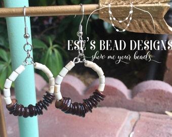 Tribal Style Hoop Earrings
