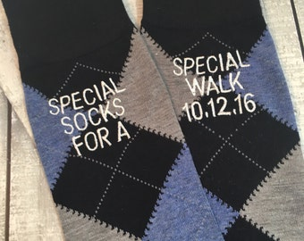 Groom Socks - Father of the Bride Socks - Groom Gift - Special Socks - Blue - Black - Wedding Socks - Groomsmen Gift - Wedsin Party Gift