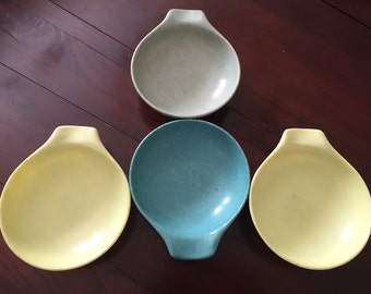 Set of 4 russel wright bowls