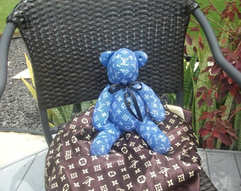 faux Denim LV like Bear
