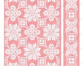 """Anna Griffin Embossing Folder & Border FOULARD 4.25"""" x 5.5 """" A2 New in Package lace botanical Cricut Cuttlebug Provo Craft"""