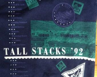 1992 Cincinnati Tall Stacks sweatshirt USA XL