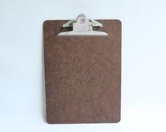 Vintage Brown Clip Board