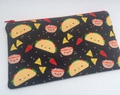 Taco Zip Pouch