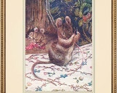 Beatrix Potter 8x10 print reproduction -The Tailor of Gloucester 1903