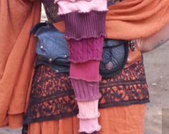 SPECIAL Order Only!! Upcycled Sweaters; PIXIE/HOBO Hood