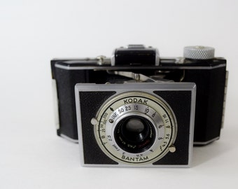 Awesome Vintage Kodak Bantam Folding Camera