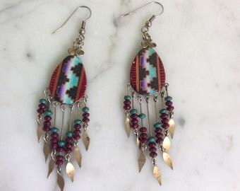 Vintage Bohemian Dangle Earrings