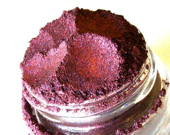 Natural Mineral Eyeshadow | Mineral Makeup | Mica Vegan Eyeshadow | Garnet