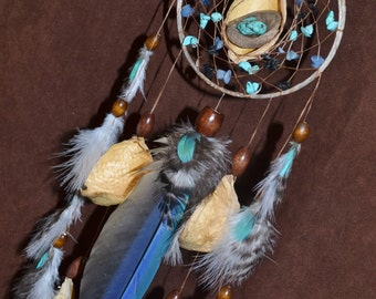 Nest of New Begininings  Devils Claw Dream Catcher