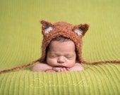 Fantastic fluffy fox bonnet. Choose your size. Great photo photography prop.