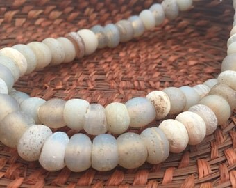 Antique Dutch Moon Beads (AT0635)