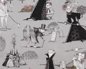 Fabric by the Yard--The Ghastlies in Smoke-- Alexander Henry Fabrics