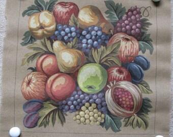 Gobelin Fruit Still Life Needlepoint/Tapestry Canvas