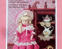 "20%OFF Fibre Fiber Craft RACHEL 13"" Soft Body Doll  - Crochet Doll Clothes Clothing Pattern"