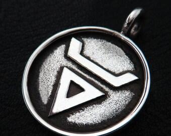 Silver Veles pendant