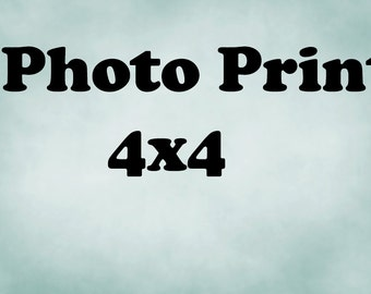 4x4 Archival Lustre --Any Print YOUR CHOICE