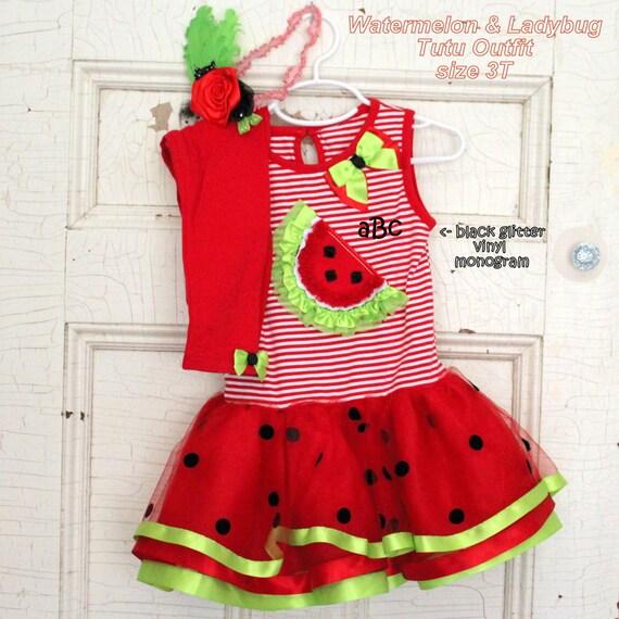 Girls Tutu Outfit Size 3t Tutu Monogram By Jacobandchloesllc