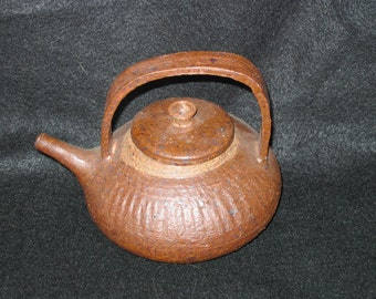 Rustic Small or Individual Handmade Clay Teapot