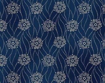 FAB1860-07, GERA577-N, Civil War, Blue, Gettysburg Era by Sara Morgan for Washington Street Studios, Reproduction Fabric