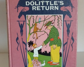 1961 Doctor Dolittle's Return By Hugh Lofting