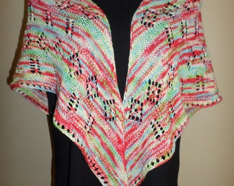 Kool Shawl Knitting Pattern