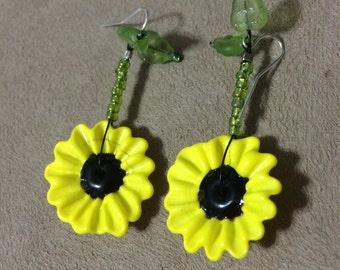 Sunny Sunflower Earrings