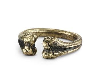 Bone Ring - Bronze Bone Ring