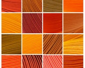 "12 Packs (Shades of Orange) 600 Strips. Culture Pop Premium Solid Color Quilling Paper Strips. 17"" Long. 1/8 1/4 1/2 inches 3 6 mm"