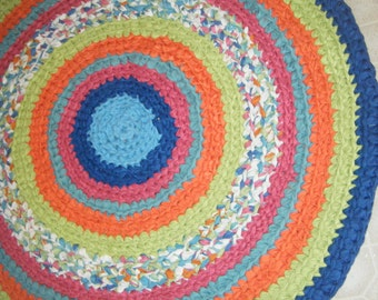 Handmade Baby Boy Nursery Rug\\ Tropical Colors Rug - For Etsy