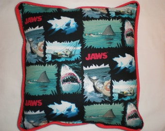 "Jaws ""We're Going To Need A Bigger Boat"" Pillow"