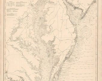 Delaware and Chesapeake Bays – 1899