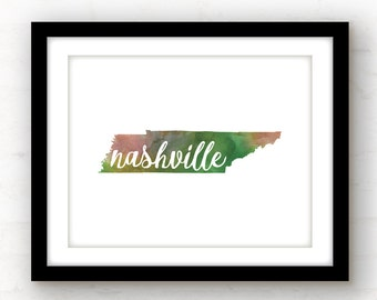 Nashville Wall Art nashville tn art | etsy