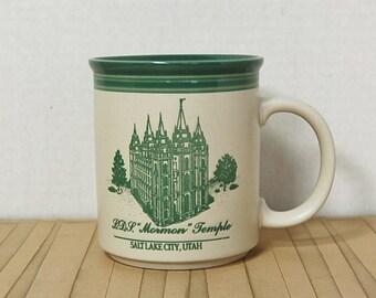 Salt Lake Mormon LDS Temple Mug