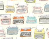 Type - Typewriters by Julia Rothman from Windham Fabrics