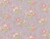 Whitewashed Cottage - Heather Small Floral Lavender by 3 Sisters from Moda