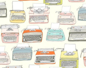 Type - Typewriters by Julia Rothman from Windham Fabrics