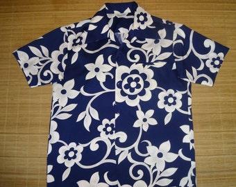 Men's Vintage 70s Hawaii Nei Hawaiian Shirt - XL - The Hana Shirt Co