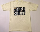 Funny 1980's Bird Shirt t-shirt, medium