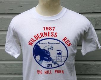 1987 Wilderness Run t-shirt, medium