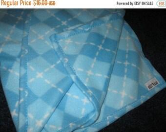 Summer Sale Blue Micro Fleece Baby Blanket Throw