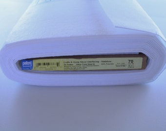 Peltex 70 Heavyweight Interfacing, Stabilizer, Crafts & Home Decor Interfacing, By the Yard