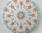 RESERVED - Mandala Wall Art- polymer clay mandala