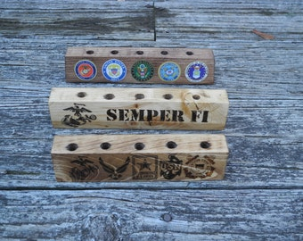 Personalized Pen and Pencil Holder, Wood
