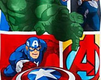 Avengers Superhero Personalized Beach Towel