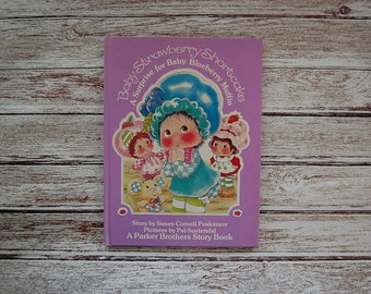 A Surprise For Baby Blueberry Muffin Book, Strawberry Shortcake, 80's Kids' Books, Strawberry Shortcake Books, Parker Brothers, Fairy Kei