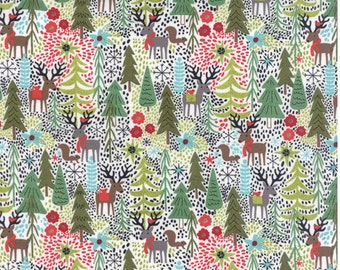 Juniper Berry cotton fabric by Basic grey for Moda fabric 30430 12